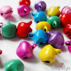 Bell charms / mix pack / 10 pieces