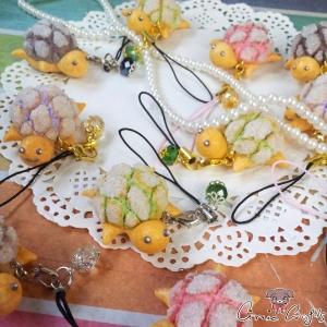Melonpan-Schildkröte / Verschiedene Farben / Anhänger
