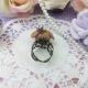 Schoki / antique bronze colored / ring