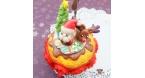Christmassy cupcake / note holder