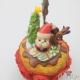 Weihnachtlicher Cupcake / Notizhalter