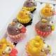 Muffin in Bärenform / Antik Bronzefarbend