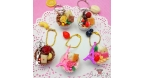 Decorated chocolate candy / different variations / bag charm