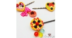 Tartes / different variations / hairpin