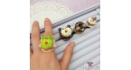 Animal shaped donut / different variations / ring