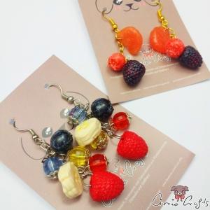 Früchte / Verschiedene Varianten / Ohrhaken