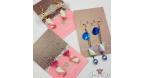 Marshmallows / different variations / earring hooks
