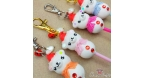 Bear shaped cake pop / different variations / charms