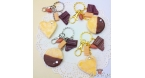 Almond cookie with caramel / different variations / keychain