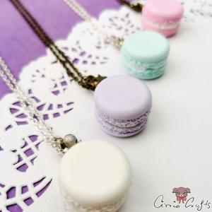 Macaron / different colors / necklace