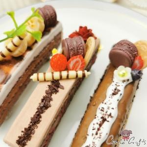 Schokoladenkuchen / Silberfarbend / Verschiedene Varianten / Haarspange