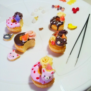 New donut charms - wip