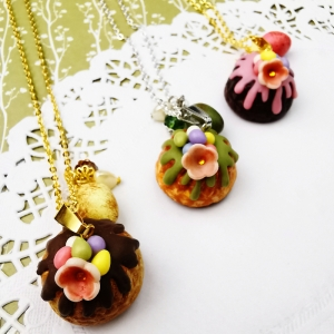 Easter necklaces, Etsy and the Coronavirus